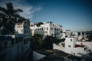 Via our rooftop in the Kasbah, Tangier